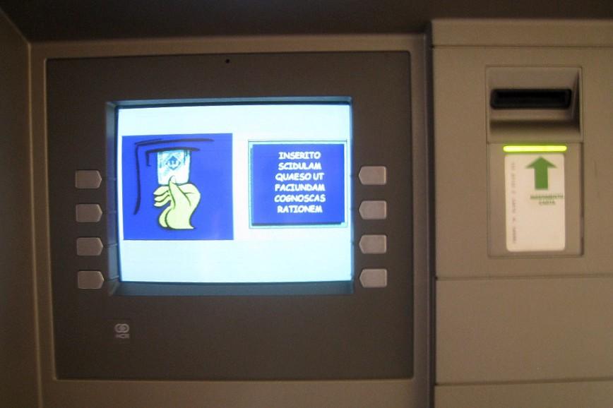 """My ATM card just got captured. Help!"""