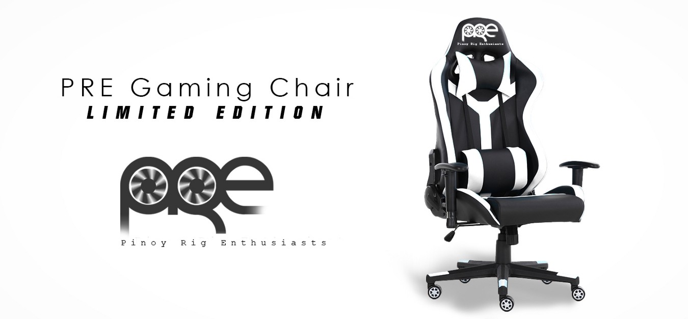 They now have a gaming chair, 'PRE