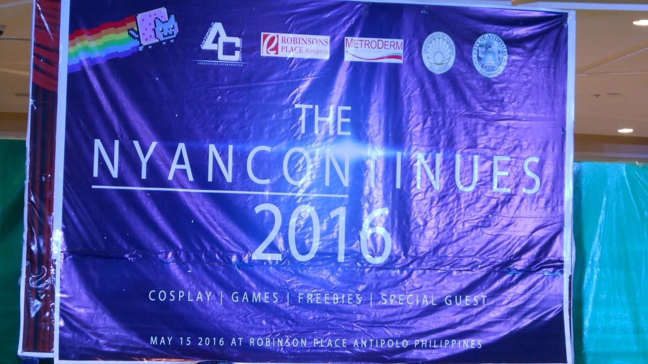 Nyancon at Antipolo City — 15 May, 2016