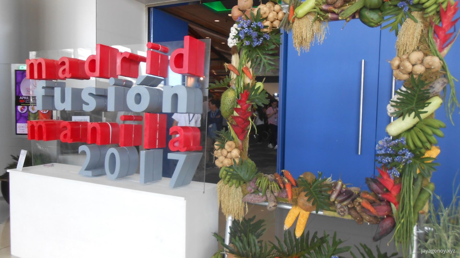 I went to Madrid Fusion Manila 2017 Expo for a grandiose merienda.